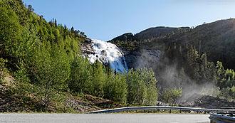 Nærøy - Image: Skrøyvstadfossen