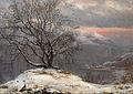 Slindebirken, Vinter (I.C. Dahl).JPG