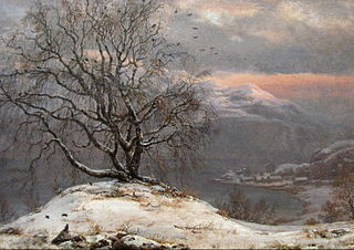 The Slinde Birch, Winter