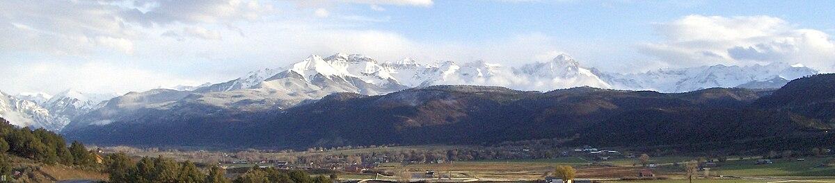 Ridgeway Colorado Map.Ridgway Colorado Wikipedia