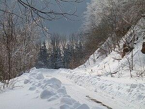 Mátra - Winter landscape in Mátra