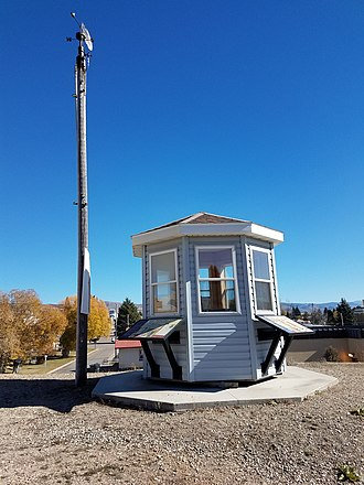 Soda Springs, Idaho - Soda Springs Ground Observer Corps booth