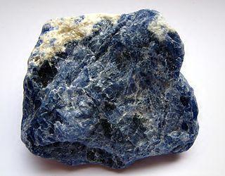 Sodalite tectosilicate mineral