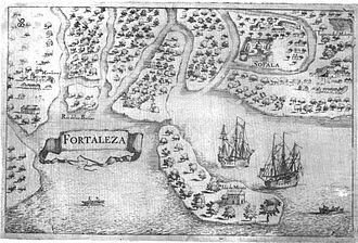 Sofala - Sofala, from Manuel Faria e Sousa, Asia Portuguesa, vol. 1, 1666