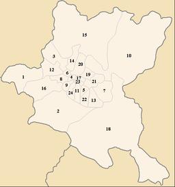 Distriktoj de Sofio