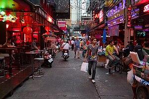 Soi Cowboy, Sukhumvit road, Bangkok, Thailand