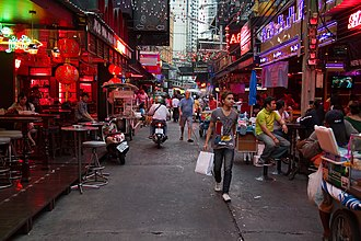 Red-light district - Image: Soi Cowboy Bangkok