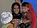 Soldier gives Afghan children taste of US culture DVIDS421756.jpg