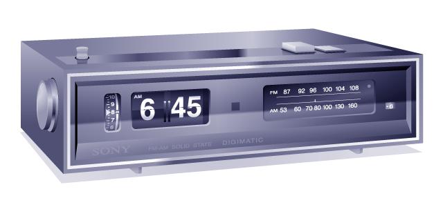 Sony Digimatic 8FC-59W radio alarm clock 20060526