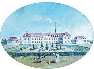 Sorø Academy - The second Sorø Academy: Lauritz de Thurah's building