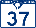 South Carolina Route Marker