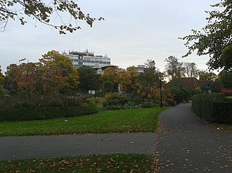 Solent University - Main campus of Solent University (East park Terrace)