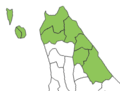 Soya subprefecture map.png