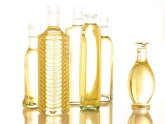 Soybean oil - Bottles of soybean oil