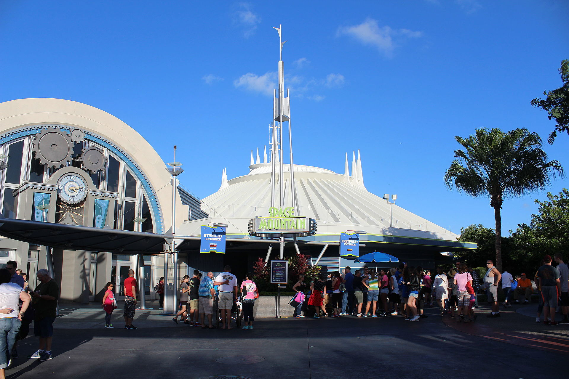 Space Mountain Magic Kingdom Wikipedia
