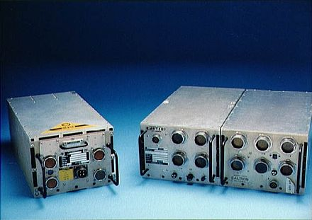 The AP-101S (left) and the AP-101B (right) Space Shuttle General Purpose Computer.jpg