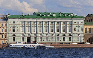 Hermitage Theatre - Hemitage Theatre on the Palace Embankment of Neva River
