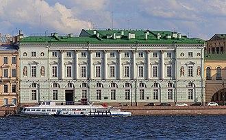 Hermitage Theatre - Hemitage Theatre on the Palace Embankment of Neva River