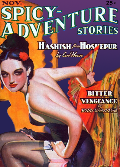 Spicy-Adventure Stories November 1936
