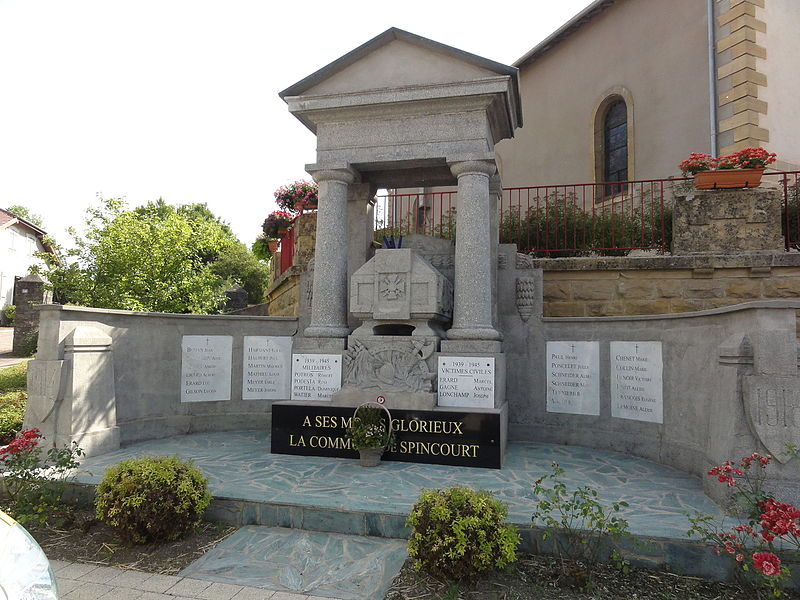 Spincourt (Meuse) monument aux morts
