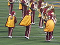 Spirit of Troy performing at halftime at USC at Cal 2009-10-03 2.JPG
