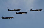 Spitfire formation flypast (5221703433).jpg