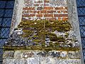 Ss Peter and Thomas' Church, Stambourne, Essex - moss on north buttress.jpg