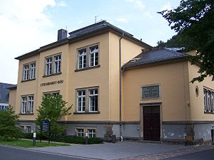 Royal Saxon Academy of Forestry - Academy building named after Julius Adolph Stöckhardt, chemist and faculty member, 1847-1883