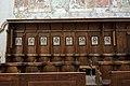 St. Blasius Regensburg Albertus-Magnus-Platz 1 D-3-62-000-24 40 Chorgestühl mit Stundentafeln Südseite.jpg