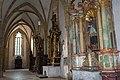 St. Blasius Regensburg Albertus-Magnus-Platz 1 D-3-62-000-24 45 Nördliches Seitenschiff mit Ältären.jpg