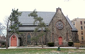 St. James' Episcopal Church and Parish House - South side