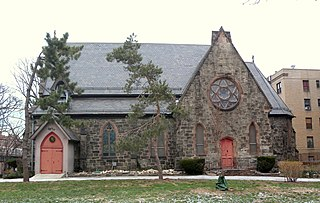 St. James Episcopal Church and Parish House United States historic place