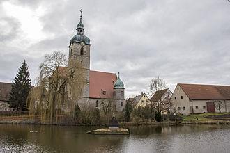 Markt Erlbach - St. Kilian, Markt Erlbach