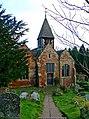St. Leonard's Church, west side - geograph.org.uk - 1461988.jpg