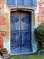St. Leonard's Church - door on west side - geograph.org.uk - 1462012.jpg
