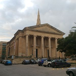Religion in Malta - St Paul's Pro-Cathedral in Valletta, mother church of the Anglican church in Malta