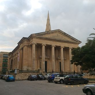 Diocese in Europe - St Paul's Pro-Cathedral, Valletta
