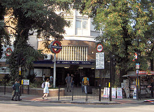 St. John's Wood tube station - Station entrance