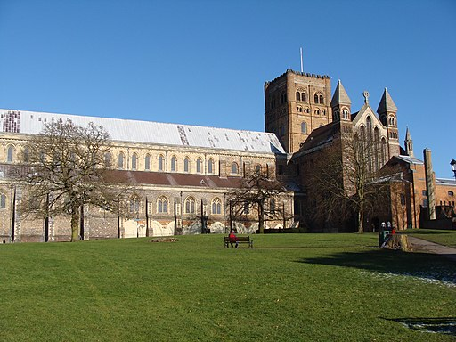 St Albans cathedral - PS07