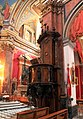 St Lawrence church interior Birgu Malta 2014 6.jpg