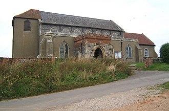 Shotley, Suffolk - Image: St Mary's Church, Shotley geograph.org.uk 941182