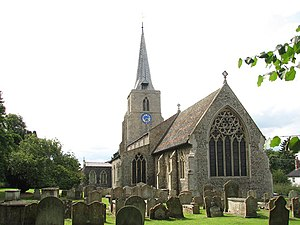 Banham, Norfolk - Image: St Mary's church geograph.org.uk 1408886