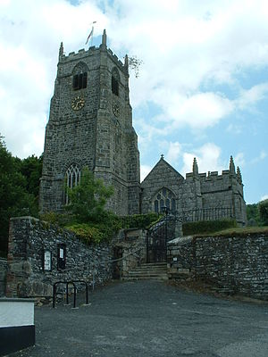 St Neot, Cornwall - Church of St Neot, famous for its late medieval stained glass