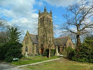 Halewood - Image: St Nicholas, Halewood