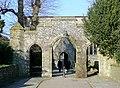 St Nicholas Church gateway, Arundel, West Sussex - geograph.org.uk - 1650613.jpg