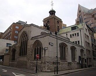 St Olave Hart Street - Image: St Olave Church