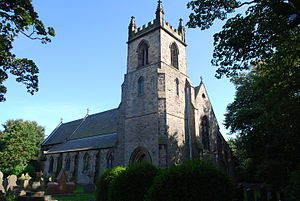Lydiate - Image: St Thomas, Lydiate 10