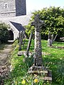 St Wyllow - medieval wayside cross 20m south east of the church.jpg