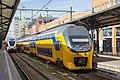 Stadler GTW von Arriva und Doppelstocktriebzug IRB der NS im Hauptbahnhof Groningen.jpg