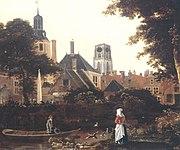 Stadsgezicht Rotterdam 1660